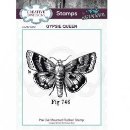 Creative Expressions® Stamps by Andy Skinner® - Gypsie Queen