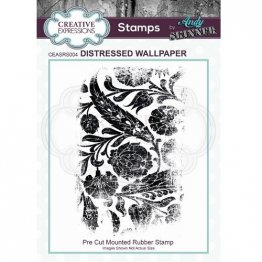 Creative Expressions® Stamps by Andy Skinner® - Distressed Wallpaper