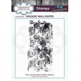 Creative Expressions® Stamps by Andy Skinner® - Grunge Wallpaper