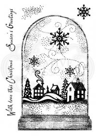 Woodware® Clear Magic Singles - Snowglobe