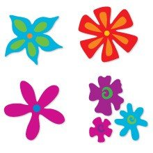Sizzix™ Small Sizzlits® Die Pack - Flower Set #3 by Emily Humble™ (38-8027)