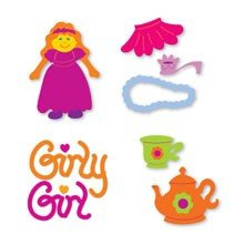Sizzix™ Small Sizzlits® Die Pack - Girl Set by Emily Humble™