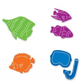 Sizzix™ Small Sizzlits® Die Pack - Tropical Fish Set by Marie Cole™