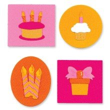 Sizzix™ Small Sizzlits® Die Pack - Birthday Knockout Set by Emily Humble™
