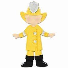 Sizzix Originals™ Die, Large - Dress Ups, Fireman Uniform