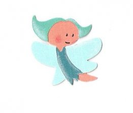 **REDUCED** DaveyRayDesigns 50mmx50mm Cutting Die - Fairy, Fly