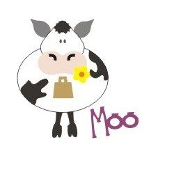 Go-Kreate 100mmx100mm Cutting Die - Moo, the Cow