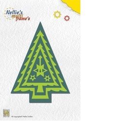 Nellie's Multi-Frame Die Set - Christmas Tree