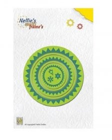 Nellie's Multi-Frame Die Set - Star #2