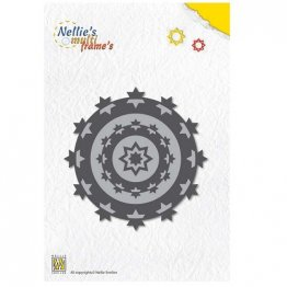Nellie's Multi-Frame Die Set - Star Wreath