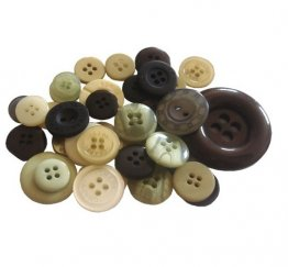 Crafts Too - Mixed Button Pack, Neutrals