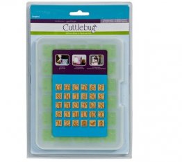Cuttlebug® Emboss All-In-One - Repo Alphabet, Songbird