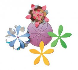 Cheery Lynn Designs® Die - Stacker Flower #3