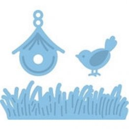 **50% OFF** Marianne D Creatables - Bird w/Grass