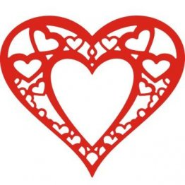 Cheery Lynn Designs® Die - Heart within my Heart
