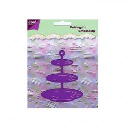 Joy Crafts Stencil Cutting & Embossing - Cake Stand