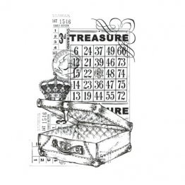 KAISERCRAFT™ Clear Stamp Collection - Vintage, Treasure