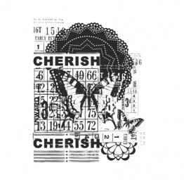 KAISERCRAFT™ Clear Stamp Collection - Vintage, Cherish