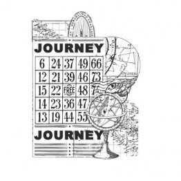 KAISERCRAFT™ Clear Stamp Collection - Vintage, Journey