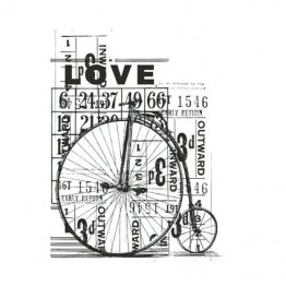 KAISERCRAFT™ Clear Stamp Collection - Vintage, Love
