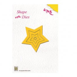 Nellie Snellen Shape Die - 5-Point Star