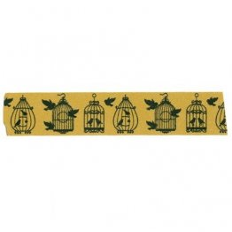 Crafts Too Vintage Collection - Washi Masking Tape - Bird Cages
