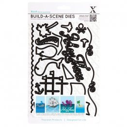 Xcut® Die Set (16 pcs) - Build-a-Scene, Nautical