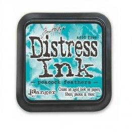 Tim Holtz® Distress Ink Pad - Peacock Feathers