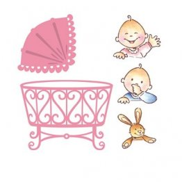 Marianne D Collectables Die & Stamp Set - Baby