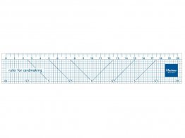 Marianne D's Ruler for Cardmaking (20cm)