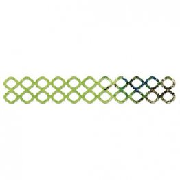 Sizzix Sizzlits® Decorative Strip Die - Label Trellis by Karen Burniston