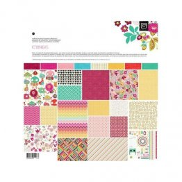 "Basic Grey® 12x12"" Paper Pad - Knee Highs Collection"