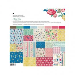 "Basic Grey® 12x12"" Paper Pad - Mint Julep Collection"