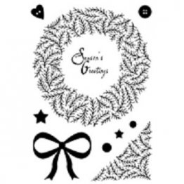 Woodware® Craft Collection - Twig Wreath Clear stamp