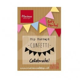 Marianne D Limited Edition Stamp Set - Let's Party