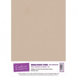 Crafter's Companion® Neenah Desert Storm Kraft Colour A4 Ultra Smooth Card (15pk)