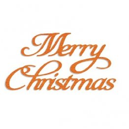Presscut Cutting & Embossing Stencils - Merry Christmas