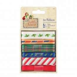 Papermania Letter to Santa - Ribbon Selection (6 x 1m)