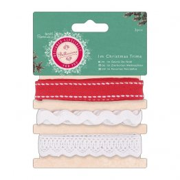 Papermania® Bellissima Christmas - Christmas Trims 3 x 1m