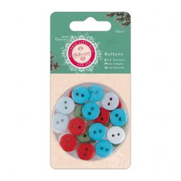 Papermania® Bellissima Christmas -Button Pack (30pcs)