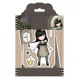 Gorjuss™ by SANTORO Rubber Stamps - Tweed Collection, My Own Universe