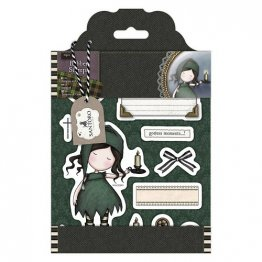 Gorjuss™ by SANTORO Rubber Stamps - Tweed Collection, Nightlight