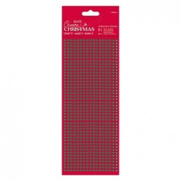 DoCrafts® Create Christmas Collection - Adhesive Stones (1530pcs), Green