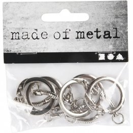 Made of Metal™ -  Key Chains (5 Pack)