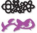 Tonic Studios® Embellishment Staples - Butterfly & Flowers (16pcs)
