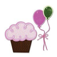Framelits Die Set & Stamps 7PK - Balloons & Cupcakes by Stephanie Barnard