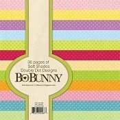 "Bo♥Bunny® Double Dot Designs 6"" x 6"" Paper Pack - Soft Shades"