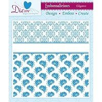 8in x 8in Embossalicious™ EmbossingFolder by Crafter's Companion™ - Elegance