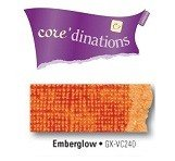Core'dinations® Vintage Collection 12x12 cardstock, 20 sheets - Emberglow