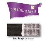 Core'dinations® Black Magic 12x12 cardstock, 20 sheets - Lost Ruby